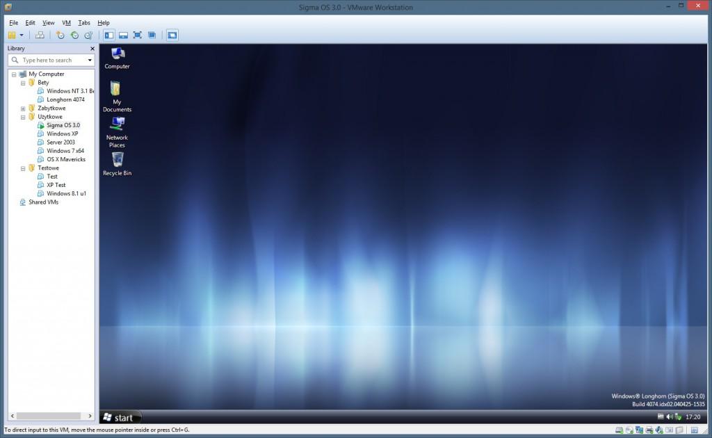Audit mode w Sigmie OS niczym nie różni się od używania zainstalowanego systemu poza tym że operujemy na systemie który użytkownik będzie miał po zainstalowaniu w dokładnie takim stanie w jakim go zostawimy.