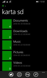 Oficjalny menedżer plików dla Windows Phone.